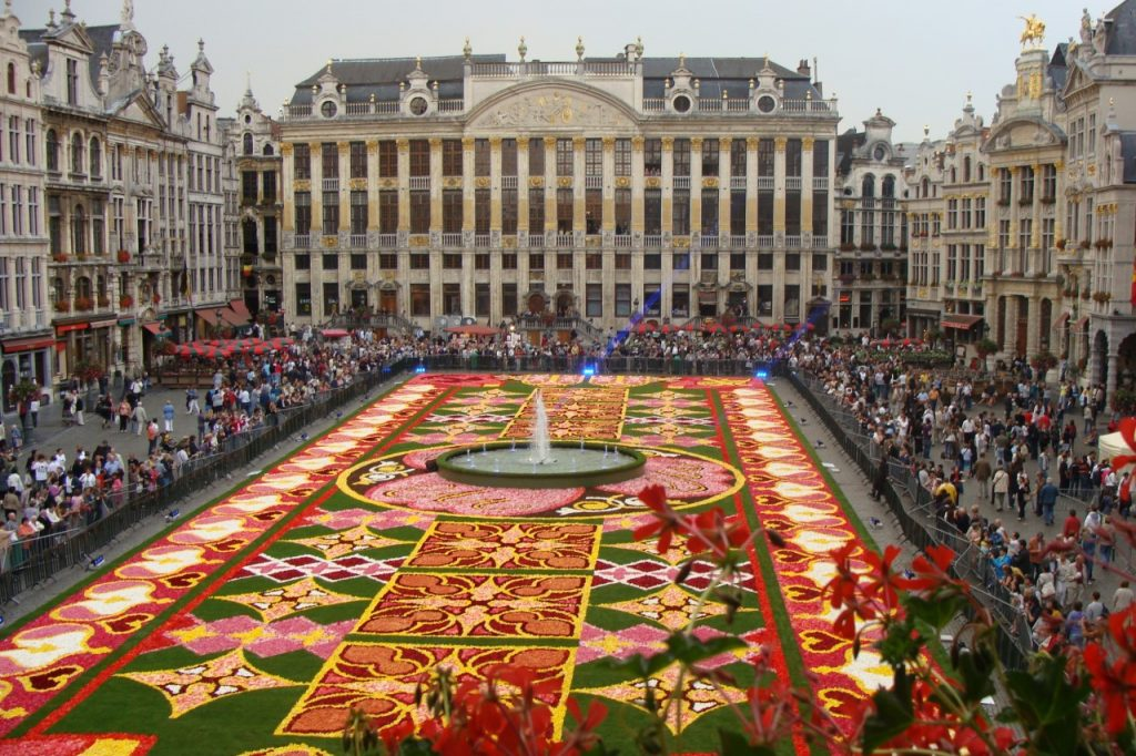 Alfombre de Flores – Grand-Place de Bruselas 2010