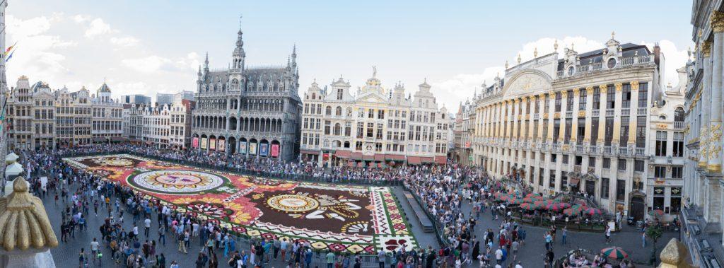 Alfombre de Flores – La Grand-Place de Bruselas 2018
