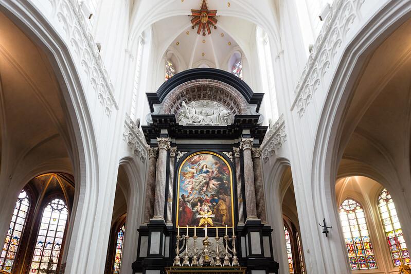 ¿Que ver y hacer en Amberes en  día?- Asunción de la Virgen - Pedro Pablo Rubens.