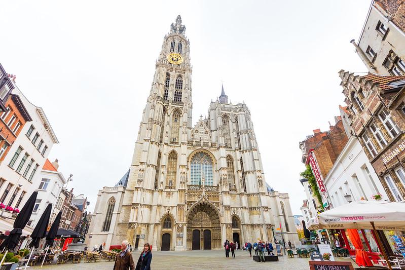 ¿Que ver y hacer en Amberes en  día?-Excursión a Amberes desde Bruselas - En imágenes. La Catedral Notre-Dame (Nuestra señora).