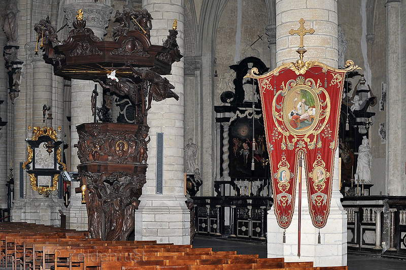 La Iglesia de San Santiago, Amberes