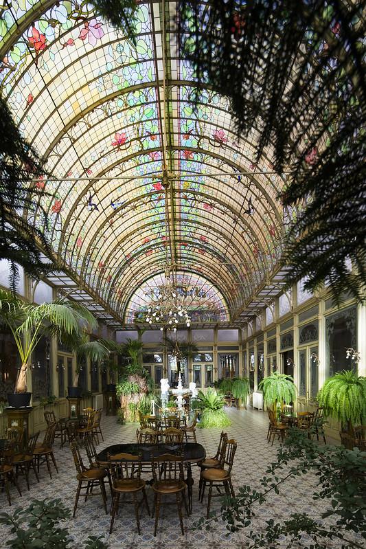 El Jardín de Invierno de las Ursulinas (Salon Art Nouveau)