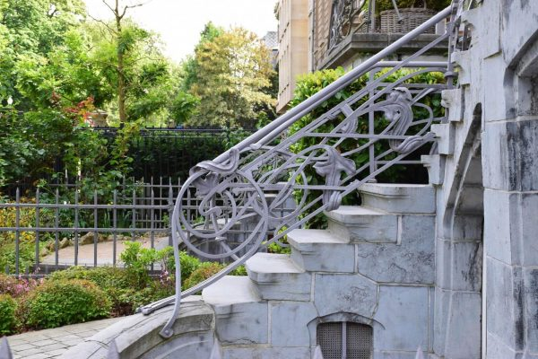Casa en estilo Art Nouveau - Avenue General de Gaulle, Ixelles - Ernest Blerot