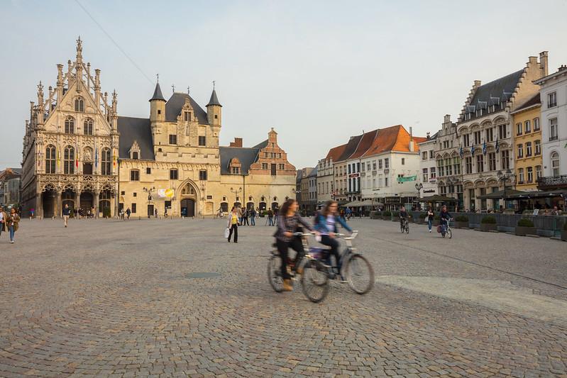 El ayuntamiento de Malinas Bélgica