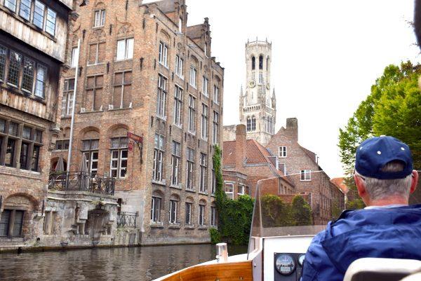 Paseo en barco en Brujas