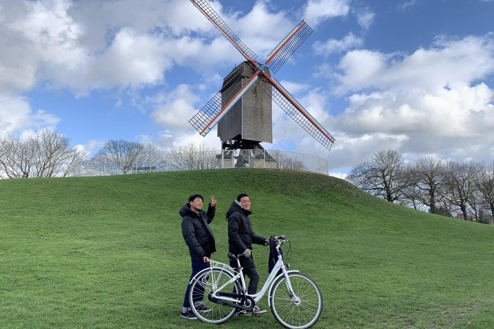 Bonne-Chièremolen - Los molinos de viento de Brujas