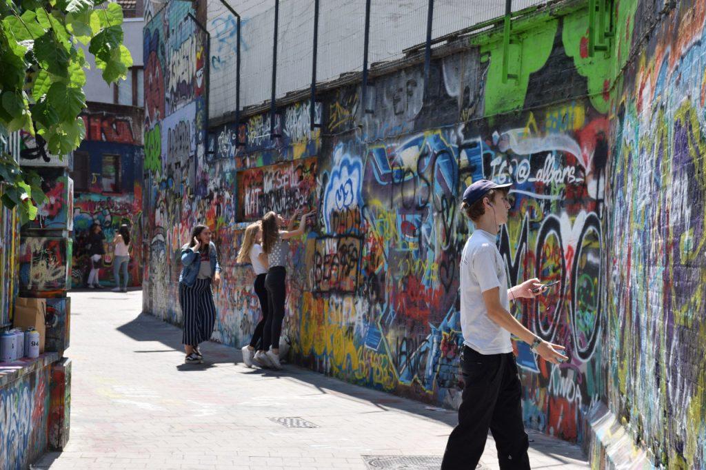 Calle de los grafitis, Gante (Graffiti Street)