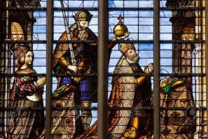 Carlos V y Isabelle de Portugal en la Catedral de Bruselas - Tour de Carlos V por Bruselas