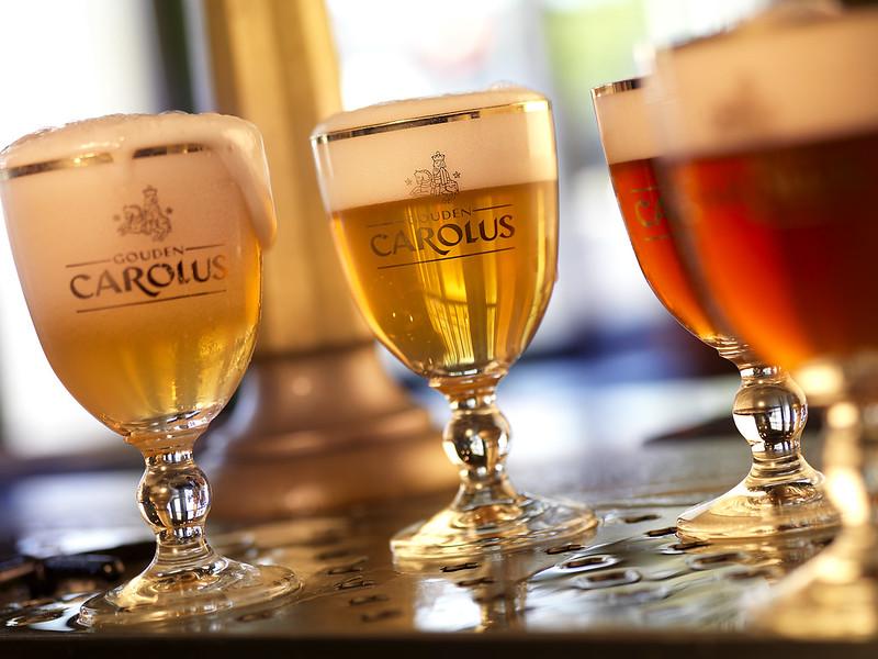 La cerveza  Carolus de Oro, Malinas Bélgica.
