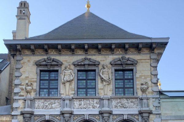 Casa de Rubens en Amberes (fachada oriental hacia el jardín) - Tour Amberes Barroca - Tras las huellas de Rubens