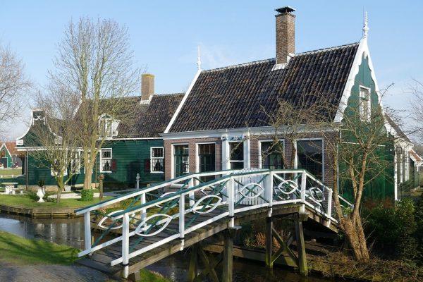 Casa típica Zaanse Schans - Excursión a Zaanse Schans desde Ámsterdam