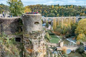 Casamatas de Bock Luxemburgo - Excursión a Luxemburgo desde Bruselas (©brunocesarqg)