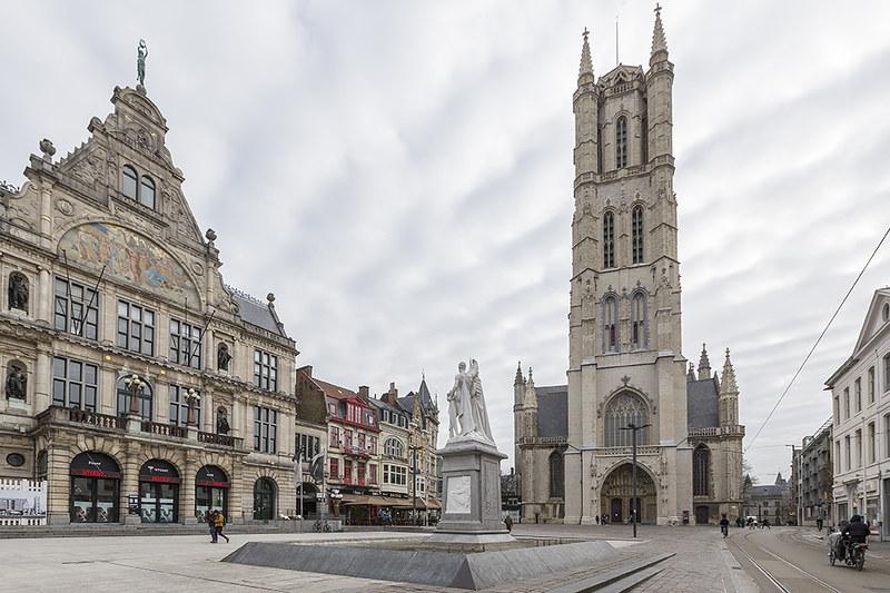 Ayuntamiento de Gante - Excursión a Gante desde Bruselas - En imágenes.
