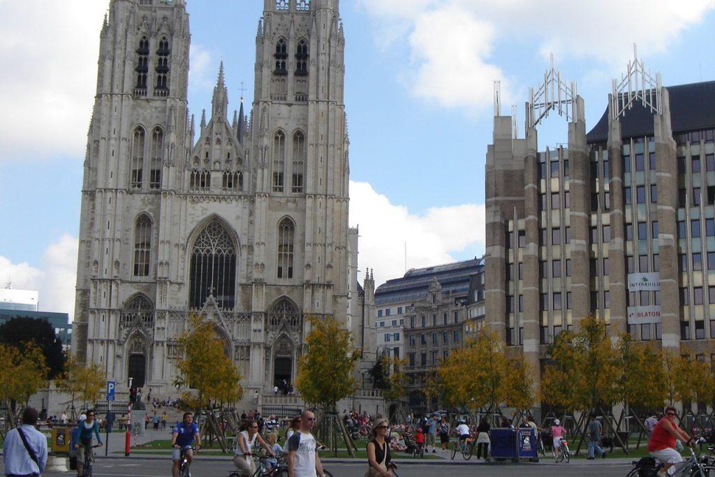 Que ver en Bruselas: Catedral de San Miguel y Santa Gúdula de Bruselas