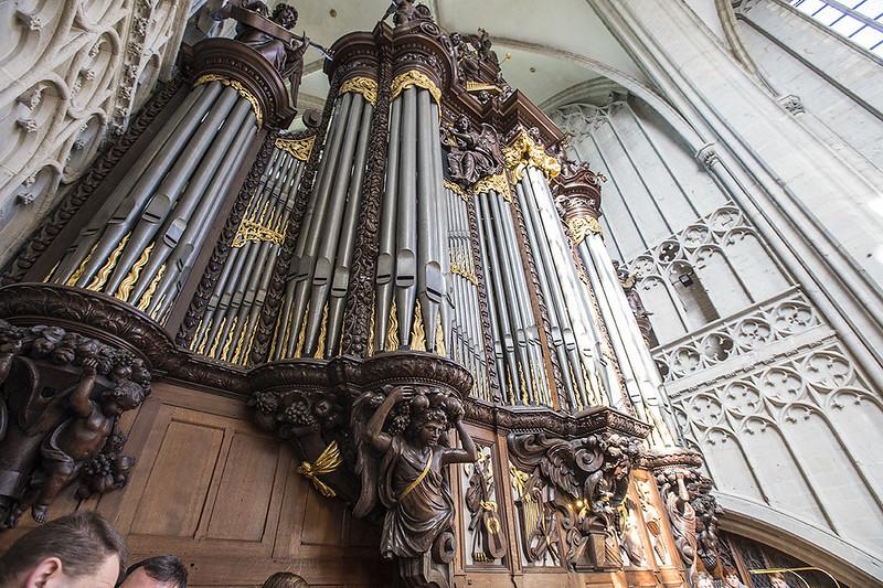Organano de la Catedral de Nuestra Señora (Amberes).