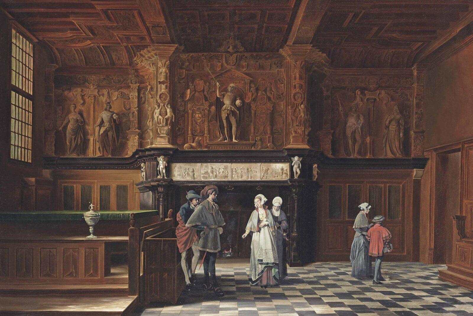 Chimenea del Emperador Carlos V – Brujas, Bélgica