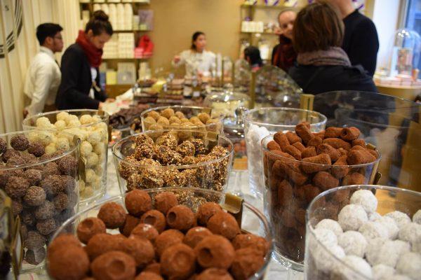 Chocolaterie Mery - Tour de degustación de chocolates en el centro histórico de Bruselas.