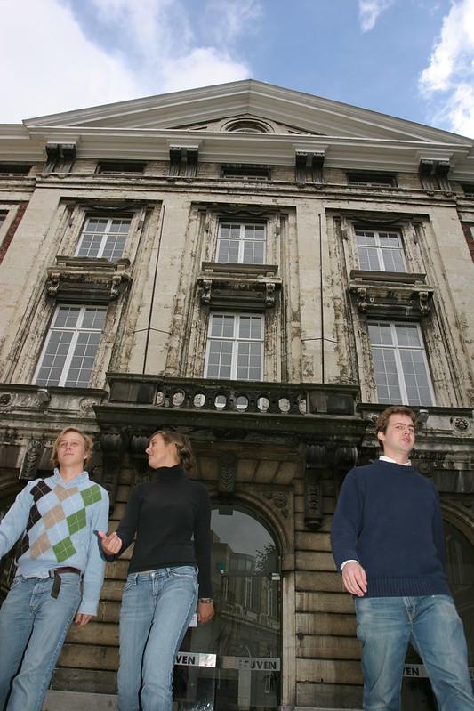 ¿Qué ver y hacer en Lovaina en un día?-Colegio de Valk (College De Valk), Lovaina Bélgica. Excursión a Lovaina desde Bruselas - En imágenes.