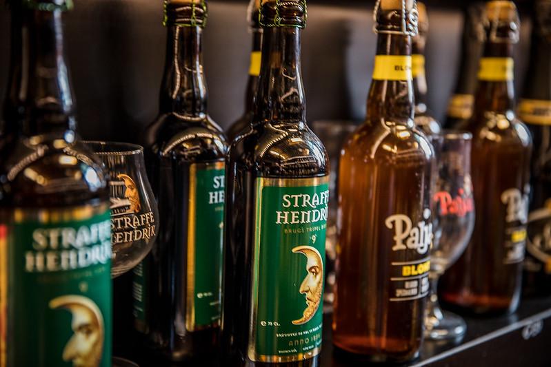De Halve Maan, donde se hace la cerveza local de Brujas.
