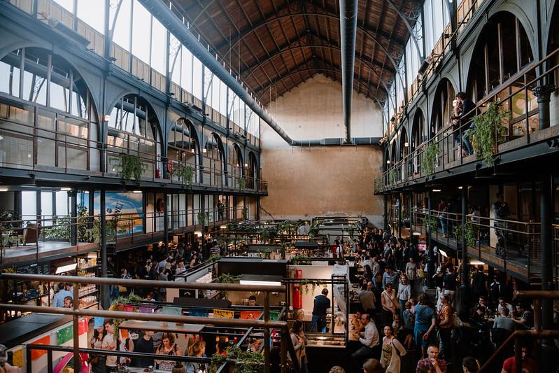 De Vleeshalle, (antiguo mercado de la carne), Malinas Bélgica.