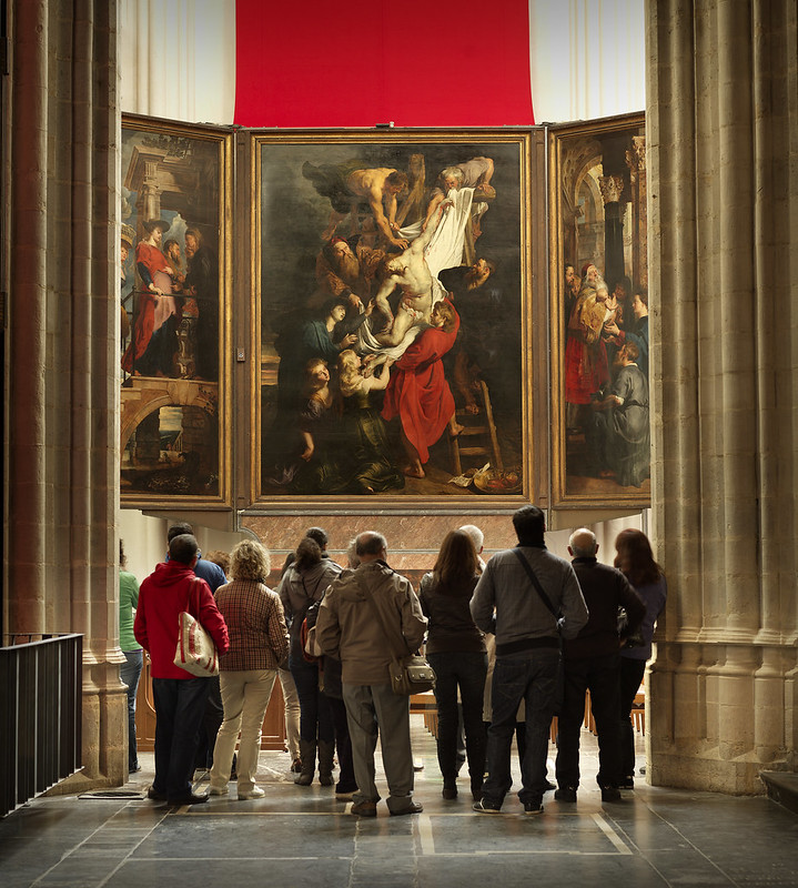 ¿Que ver y hacer en Amberes en  día?-¿Que ver y hacer en Amberes? El Descendimiento de la Cruz de Pedro Pablo Rubens.