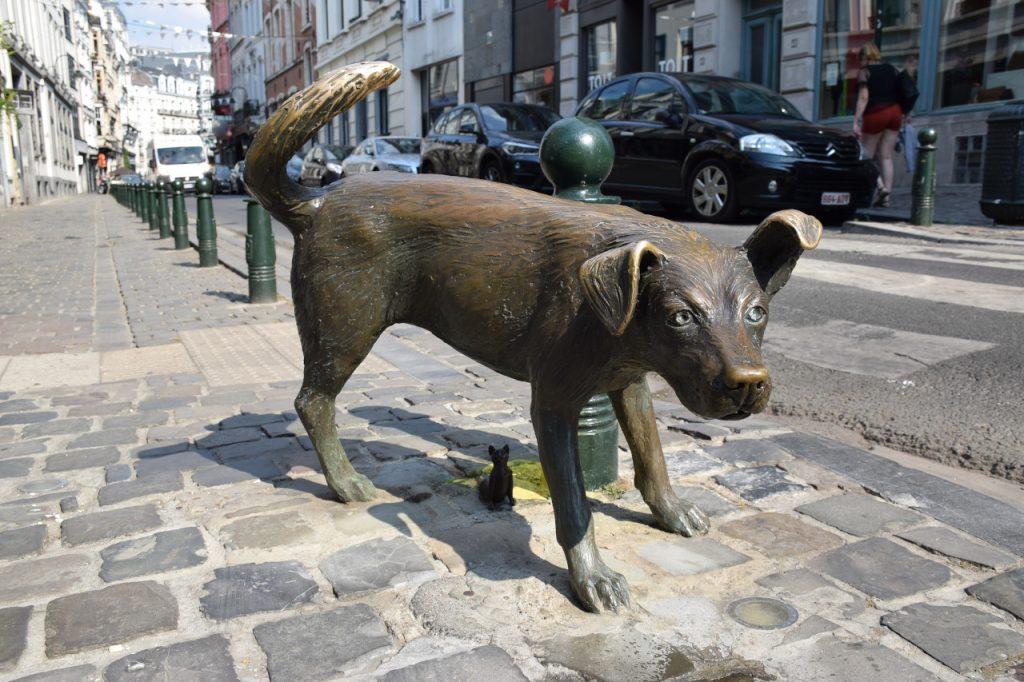 Que ver en Bruselas: El Zinneke Pis