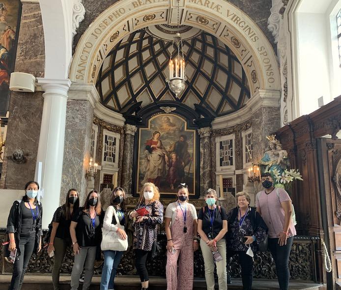 El regreso de la Sagrada Familia de Egipto - excursión a Amberes
