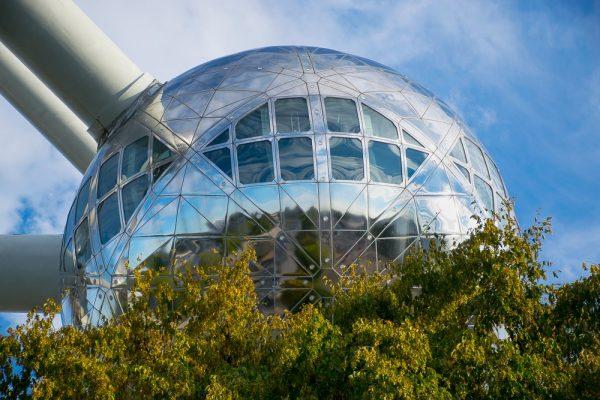 Esfera (atomo) del Atomium de Bruselas - Tour gratis por el Atomium de Bruselas