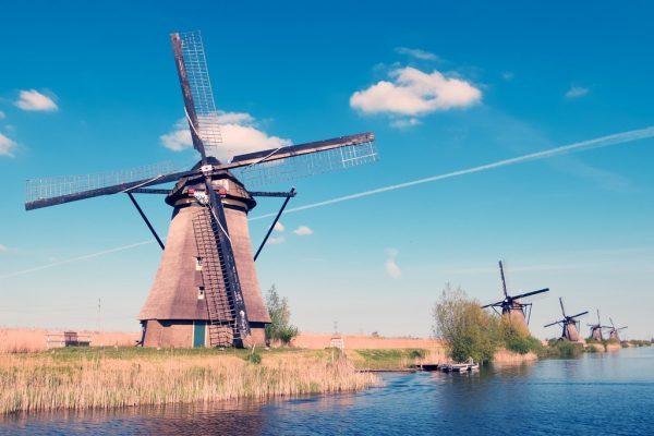 Excursión a los molinos de Kinderdijk