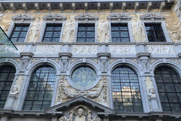 Fachada de la casa de Rubens en Amberes (fachada oriental hacia el jardín) - Tour Amberes Barroca - Tras las huellas de Rubens