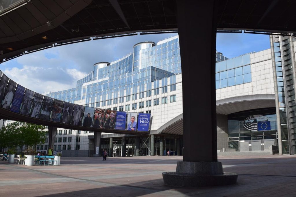 Free tour por el Barrio Europeo de Bruselas