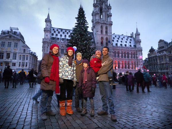 Tour por el Mercadillos de Navidad en Bruselas-