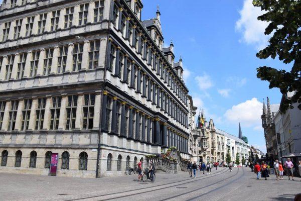 Ayuntamiento de Gante – Antigua calle principal de Gante.