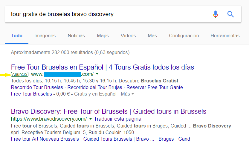 Google Ads - Tour gratis de Bruselas