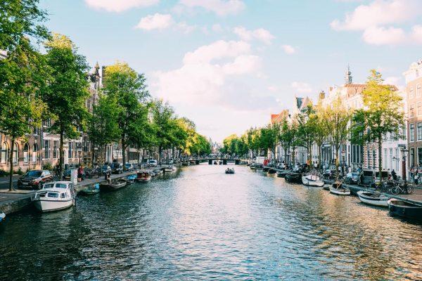 Hermosa foto de los canales de Ámsterdam - Excursión Ámsterdam desde Bruselas