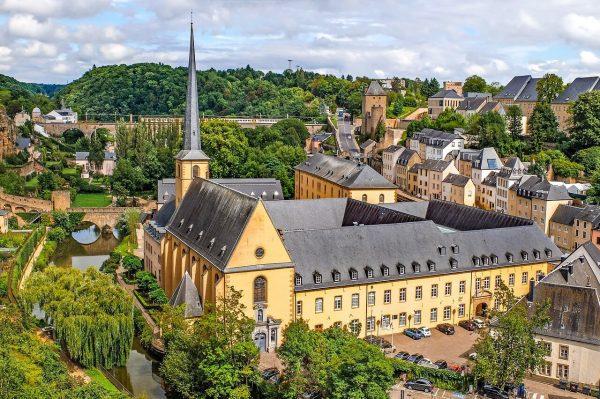 Hermosa vista de la cuidad de Luxemburgo - Excursión a Luxemburgo desde Bruselas