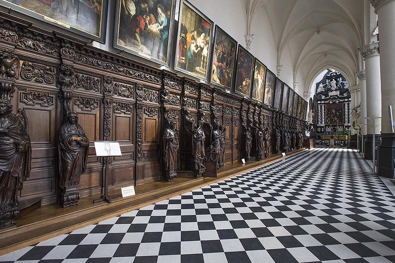 Iglesia de San Pablo, Amberes - Cuadros originales de Rubens, Van Dyck, Jordaens.