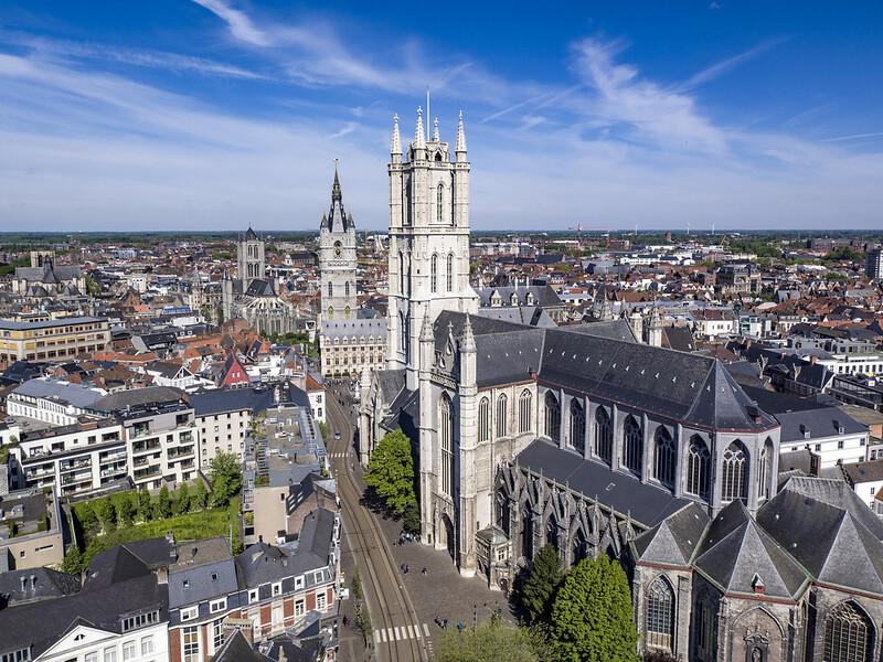 Excursión a Gante desde Bruselas - En imágenes. Iglesia de San Nicolás