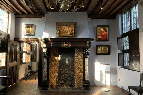 Interior de la casa de Rubens en Amberes - Tour Amberes Barroca - Tras las huellas de Rubens