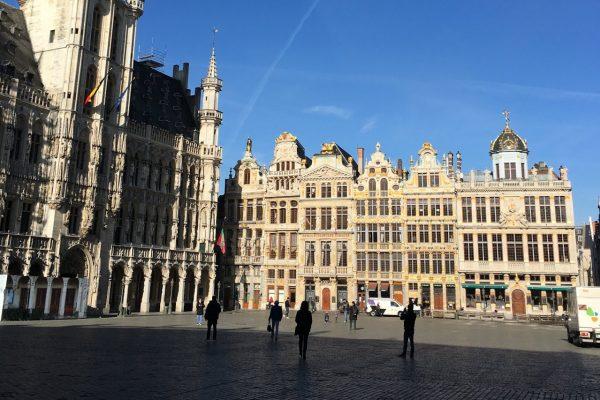 La Grand-Place de Bruselas - Coronavirus Bruselas