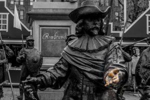 La Guardia Nocturna - Plaza Rembrandt Ámsterdam - Tour privado Ámsterdam en la Edad de Oro - ©Mondo79