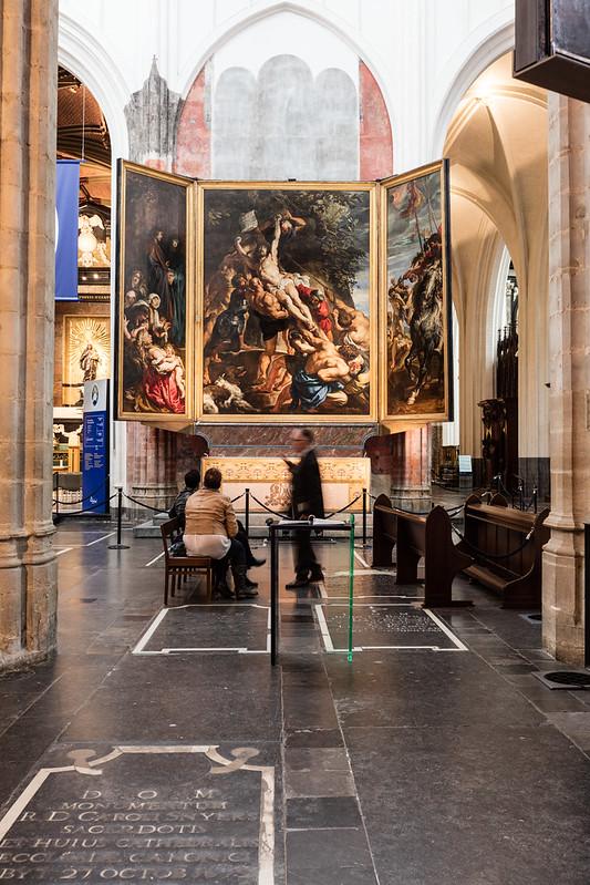 La Elevación de la Cruz de Rubens.