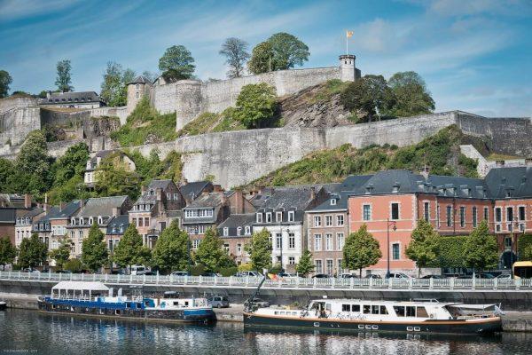 La impresionante Ciudadela de Namur