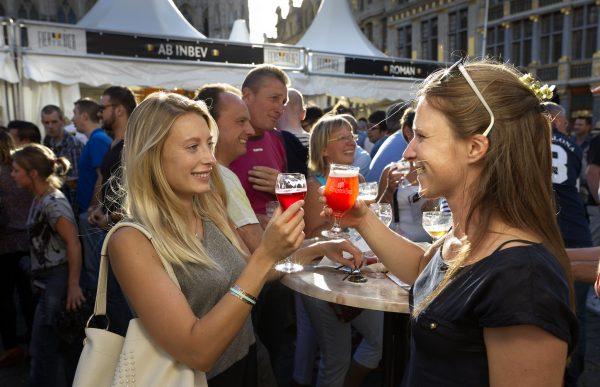 Las cervezas afrutadas belga