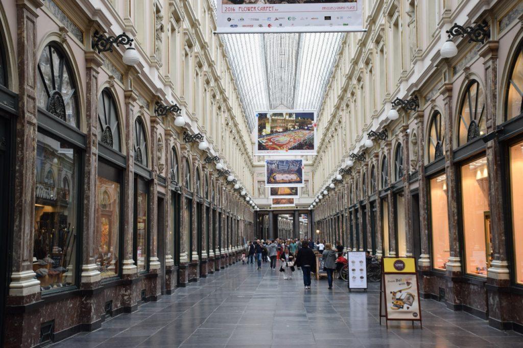 Que ver en Bruselas: Las galerías Saint Hubert o Galerías Reales