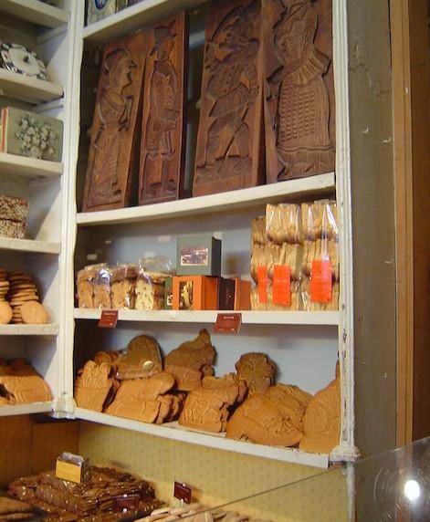Las galletas Spéculoos- La Maison Dandoy.