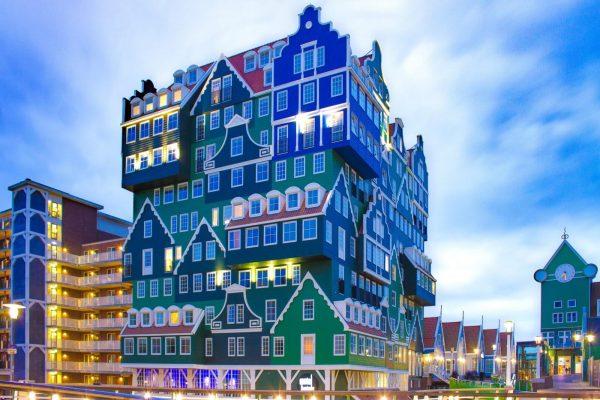 Moderna y tradicional arquitectura de Ámsterdam - Excursión Ámsterdam desde Bruselas