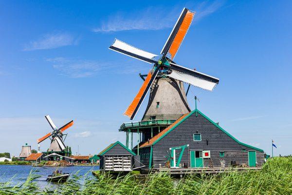 Molino De Kat - el gato - Zaanse Schans - Excursión a Zaanse Schans desde Ámsterdam