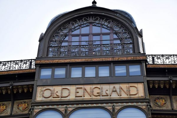 Edificio Old England - Edificio MIM (Museo de Instrumentos Musicales de Bruselas) - Art Nouveau Bruselas.