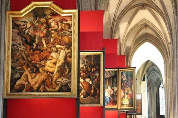 Pinturas originales de Pedro Pablo Rubens - La Catedral de Amberes.